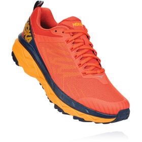 Hoka One One Challenger ATR 5 Shoes Men mandarin red/black iris